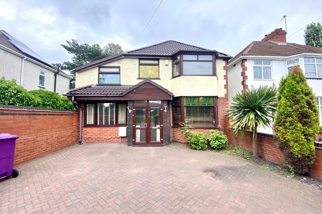 Thumbnail Detached house to rent in Wood End Road, Wednesfield, Wolverhampton