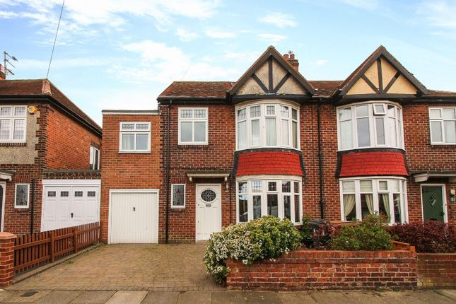 5 bed semi-detached house for sale in Oakland Road, Monkseaton, Whitley Bay NE25