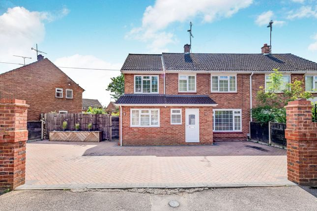Thumbnail Semi-detached house for sale in Cranmore Road, Mytchett