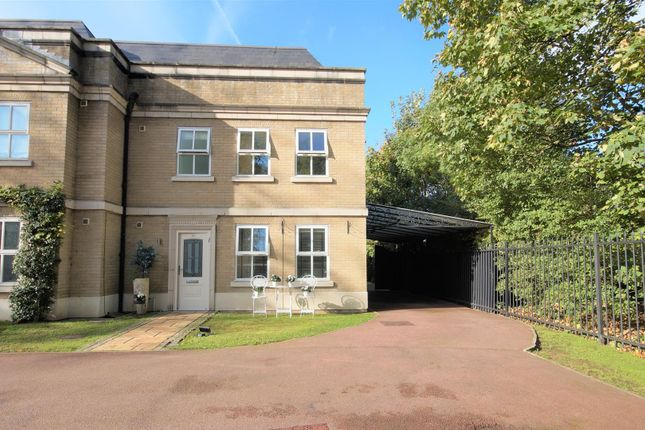 Thumbnail End terrace house for sale in Claybury Hall, Regents Drive, Woodford Green