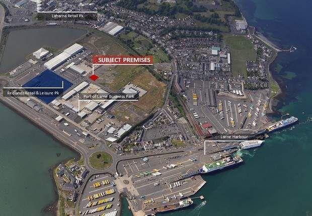 Thumbnail Warehouse to let in Redlands Crescent, Port Of Larne Business Park, Redlands Road, Larne, County Antrim
