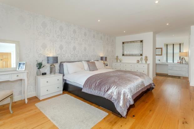 Master Bedroom of Greenfields Lane, Malpas SY14