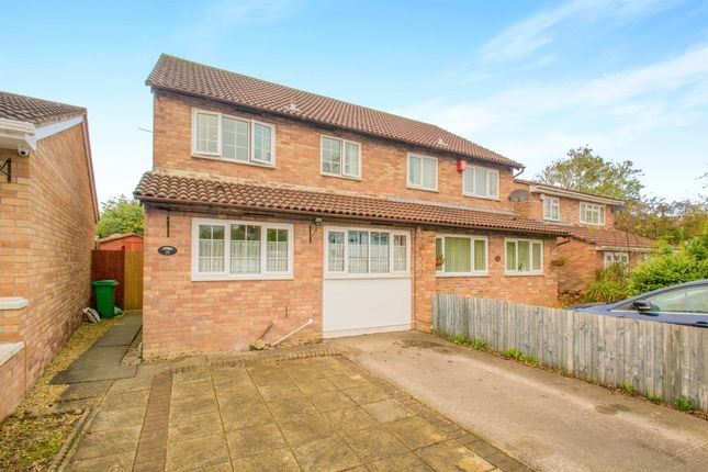 Thumbnail Semi-detached house for sale in Jestyn Close, Michaelston-Super-Ely, Cardiff