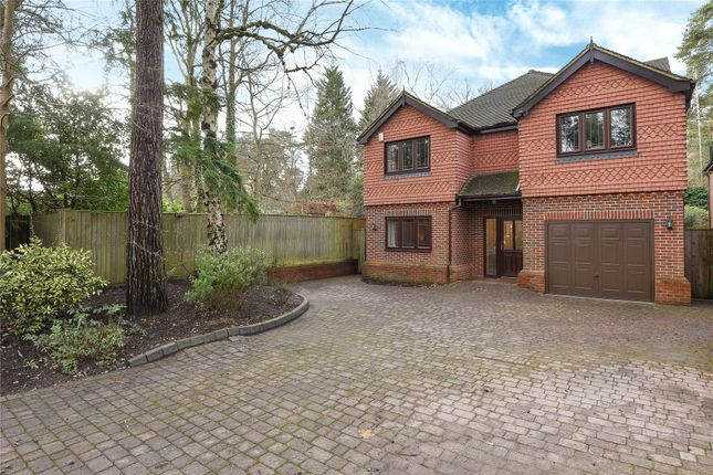 Thumbnail Detached house for sale in New Wokingham Road, Crowthorne, Berkshire
