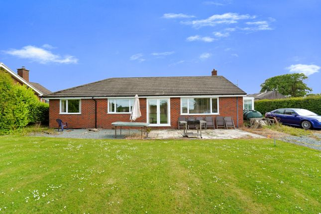 Thumbnail Detached bungalow for sale in Maesbury Marsh, Oswestry, Shropshire
