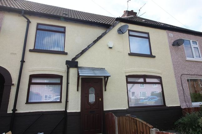 Thumbnail Terraced house to rent in Vaux Crescent, Bootle