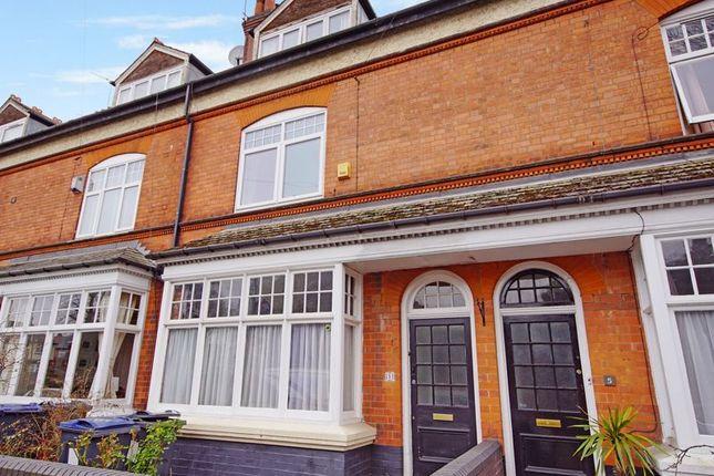 Thumbnail Terraced house for sale in Cadbury Road, Moseley, Birmingham