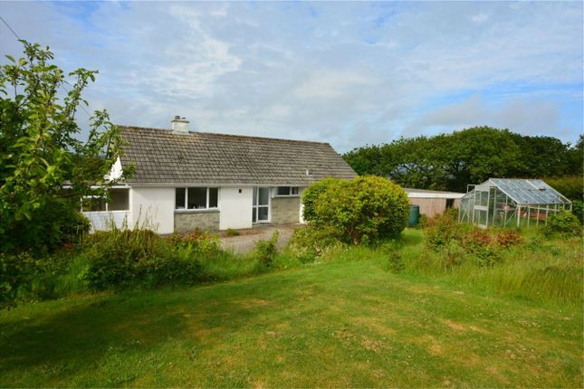 Thumbnail Detached bungalow to rent in Old Carnon Hill, Carnon Downs, Truro, Cornwall
