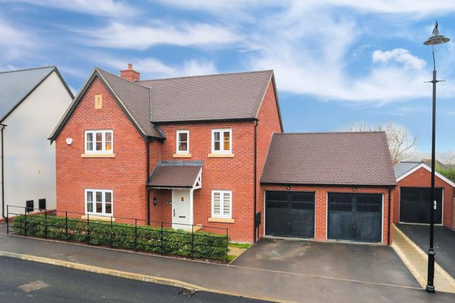 Thumbnail Detached house for sale in Sorrel Crescent, Wootton, Northampton