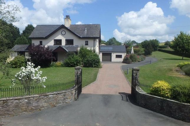 Thumbnail Detached house for sale in Boughrood, Brecon, Powys