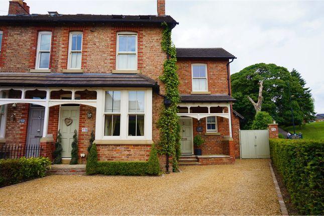 Thumbnail Semi-detached house for sale in Brook Lane, Alderley Edge