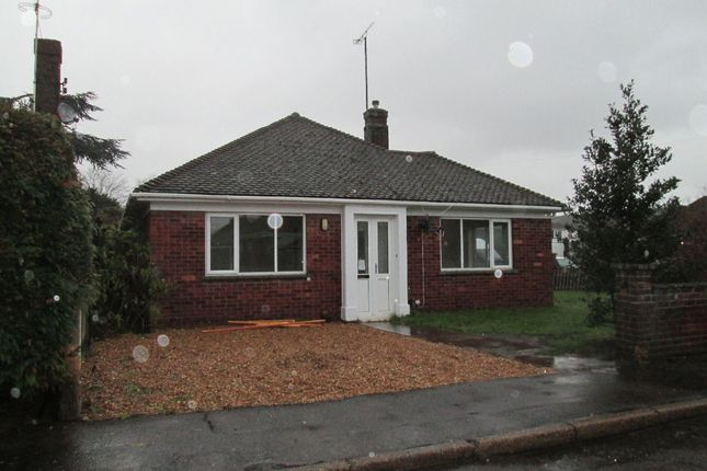 Thumbnail Bungalow to rent in The Chase, Leverington Road, Wisbech