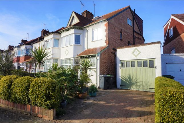 Thumbnail Semi-detached house to rent in Farrer Road, London