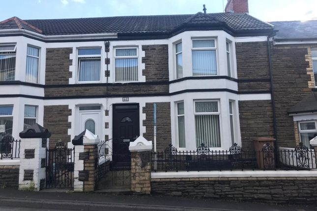 Thumbnail Terraced house for sale in Bedwellty Road, Aberbargoed, Bargoed