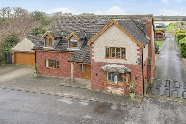 Thumbnail Detached house for sale in Burgh Road, Orby, Skegness