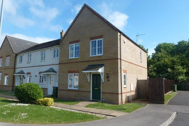 Thumbnail End terrace house to rent in Thorpe Close, Tydd St. Mary, Wisbech