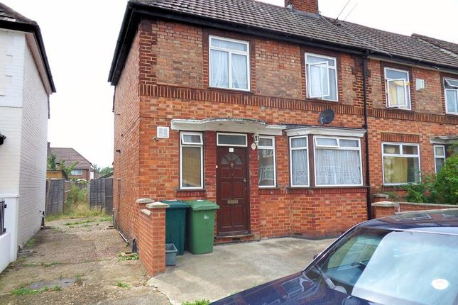 3 bed end terrace house for sale in Fulwood Avenue, Wembley, Middlesex
