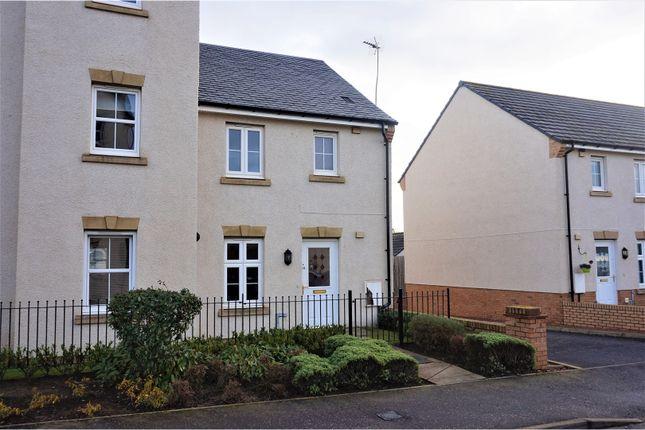Thumbnail Semi-detached house for sale in Burnbrae Avenue, Bonnyrigg