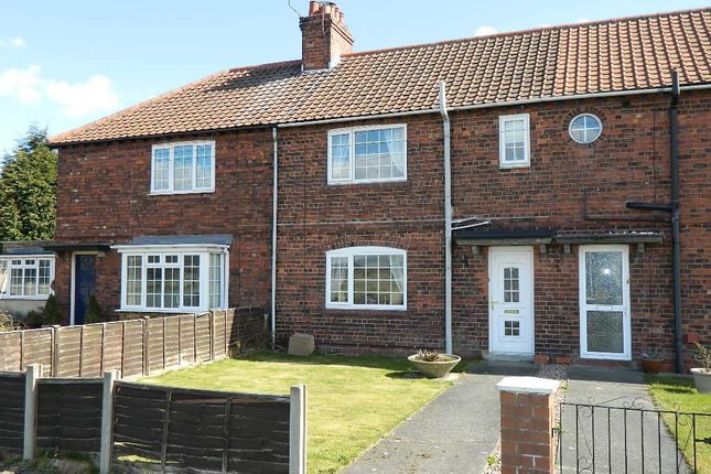 3 bedroom terraced house for sale in South View, Osgodby, Selby