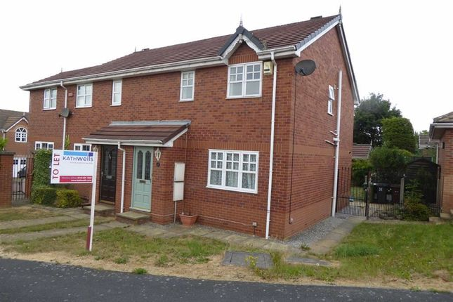 Thumbnail Semi-detached house to rent in St Mary's Park Approach, Leeds, West Yorkshire