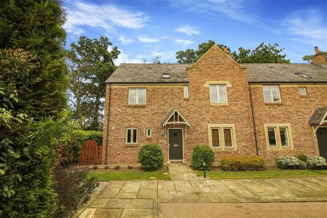 Thumbnail Terraced house for sale in Farmstead Court, Hartford Hall, Northumberland