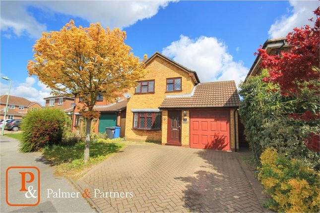 3 bed detached house for sale in Davidson Close, Great Cornard, Sudbury CO10