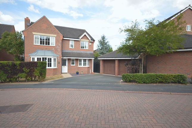 Thumbnail Detached house for sale in Calder Close, Muxton, Telford