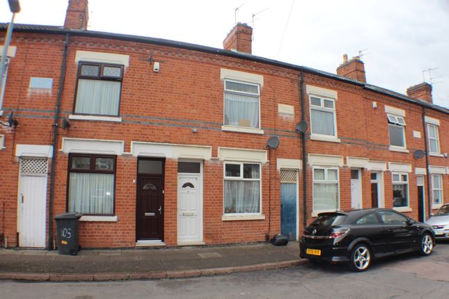 Thumbnail Terraced house for sale in Cottesmore Road, Leicester