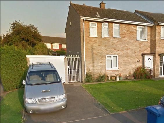 Thumbnail End terrace house to rent in Chesterton Way, Leyfields, Tamworth, Staffordshire