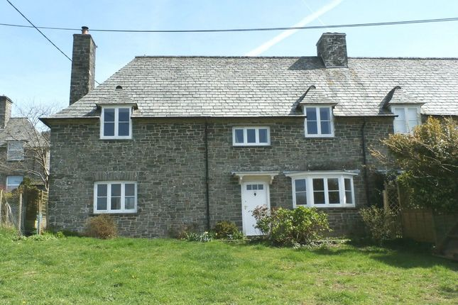 3 bed cottage for sale in The Parade, Milton Abbot, Tavistock