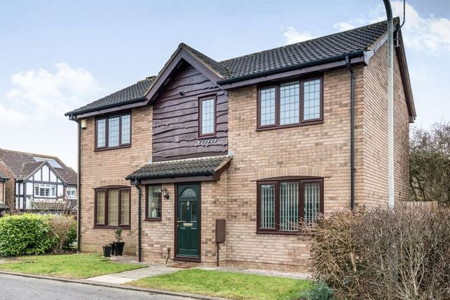 Thumbnail Detached house for sale in Flora Thompson Drive, Newport Pagnell
