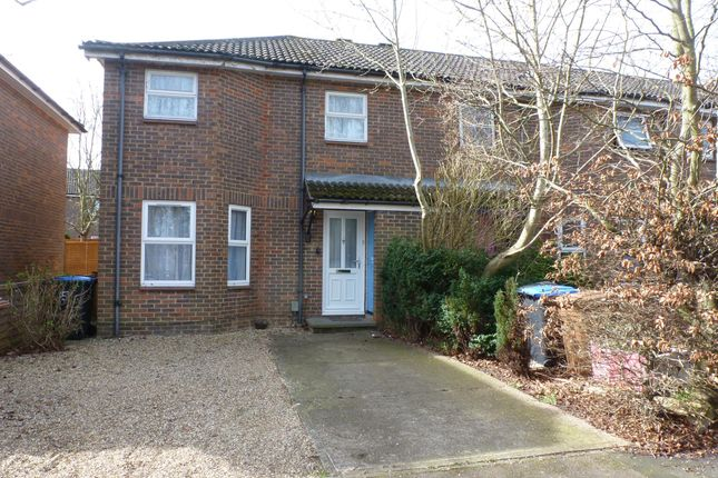 Thumbnail End terrace house to rent in The Spinney, Welwyn Garden City