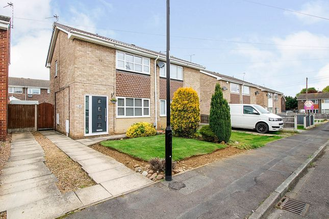 Thumbnail Semi-detached house for sale in Locking Drive, Armthorpe, Doncaster