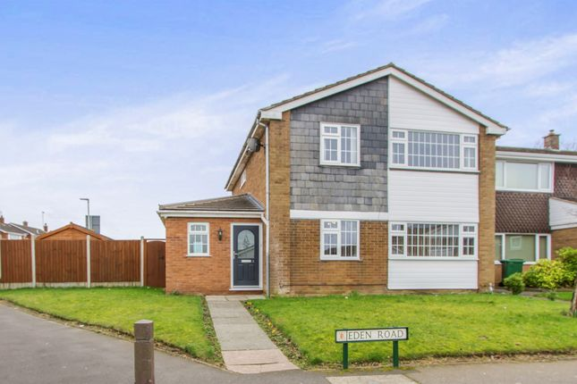 Thumbnail Detached house for sale in Eden Road, Oadby, Leicester