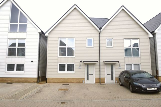 2 bed semi-detached house to rent in Trinity Drive, Folkestone