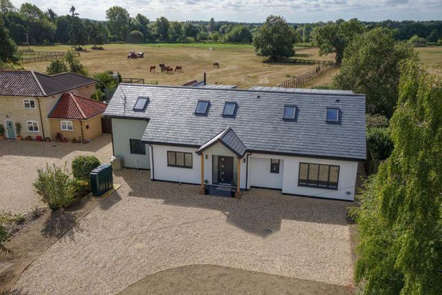 Thumbnail Detached house for sale in Icklingham Road, West Stow, Bury St. Edmunds