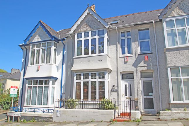 Thumbnail Terraced house for sale in Abingdon Road, North Hill, Plymouth