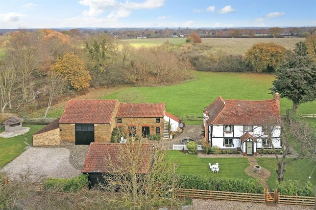 Thumbnail Detached house for sale in Hulletts Lane, Pilgrims Hatch, Brentwood