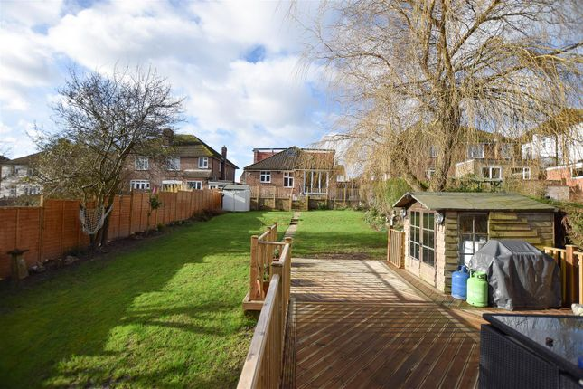 Thumbnail Detached bungalow for sale in King Edward Avenue, Hastings