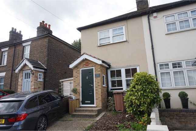 Thumbnail Semi-detached house for sale in Milton Road, Brentwood