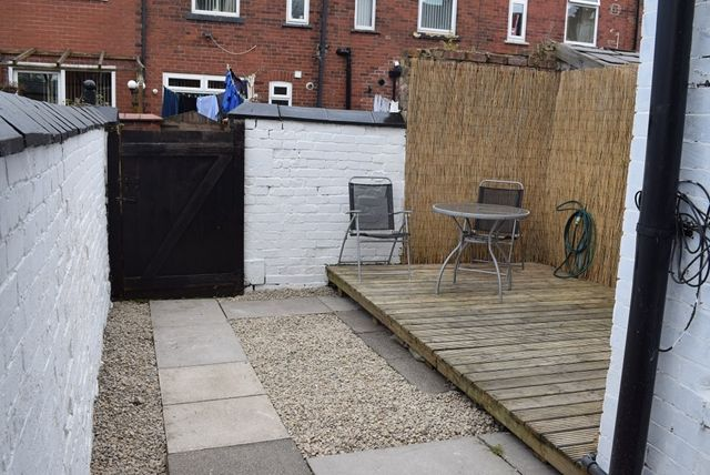 Rear Yard of Hilton Fold Lane, Middleton, Manchester M24