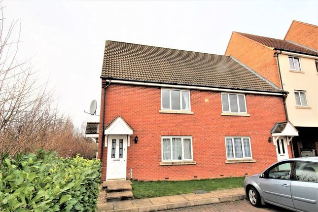 Thumbnail Maisonette to rent in Creswell Place, Cawston, Rugby