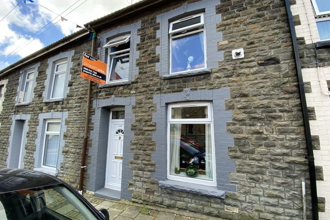 Thumbnail Terraced house for sale in Park Road, Cwmparc -, Treorchy