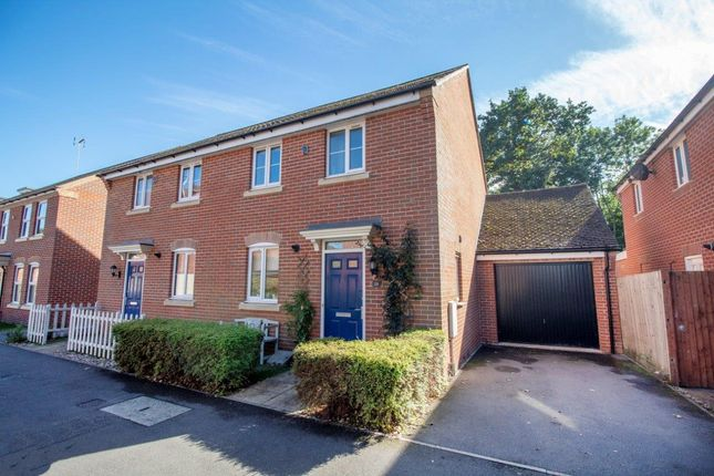 Thumbnail Semi-detached house for sale in Chilworth Way, Sherfield-On-Loddon, Hook