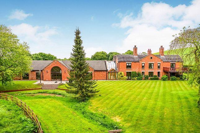 Thumbnail Detached house for sale in Winnington Lane, Winnington, Market Drayton
