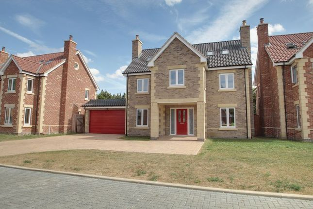 Thumbnail Detached house for sale in Highfields Grange, Oundle Road, Peterborough