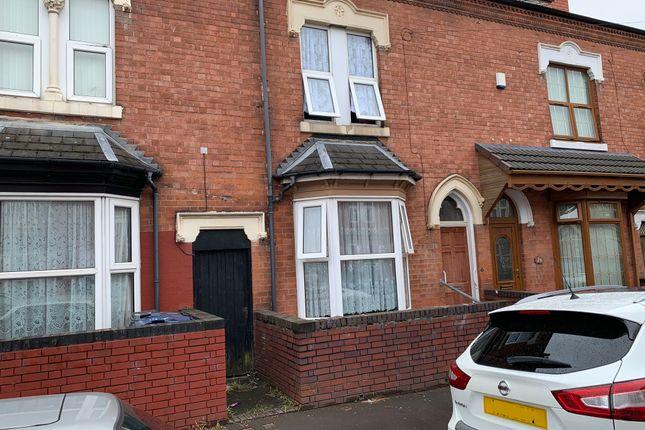 Thumbnail Terraced house to rent in Ettington Road, Aston, Birmngham
