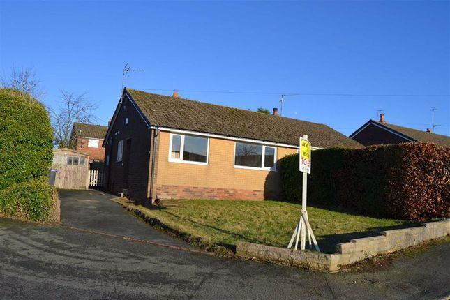 Thumbnail Semi-detached bungalow to rent in Eden Grove, Cheadle, Stoke-On-Trent