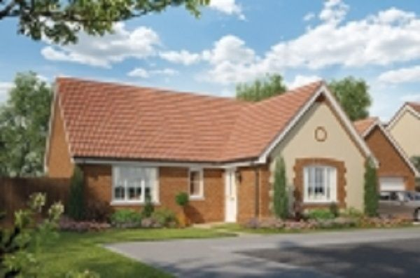 Thumbnail Detached bungalow for sale in Nursery Lane, South Wootton, Norfolk