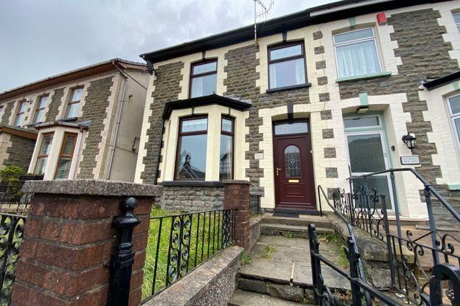 Thumbnail Semi-detached house for sale in Maerdy -, Maerdy
